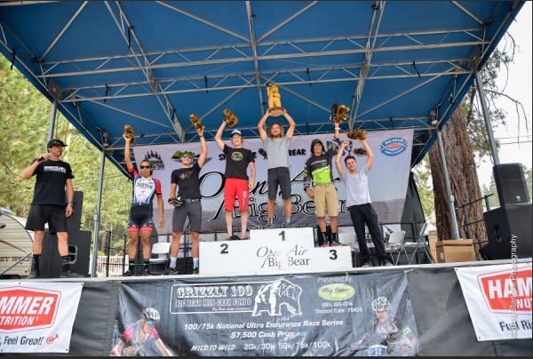 2016 Grizzly 100 NUE Mens Open Podium